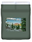 Broken Top, Oregon Duvet Cover