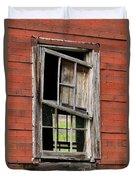 Broken Window Frame Duvet Cover
