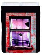 Broken Window Duvet Cover
