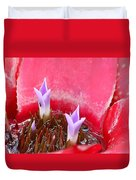 Bromeliad With Ant Duvet Cover