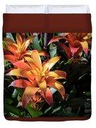Bromeliads Duvet Cover