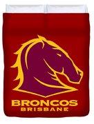Broncos Brisbane Duvet Cover