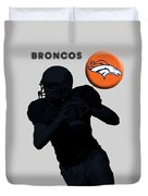 Broncos Football Duvet Cover