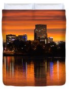 Broncos Sunrise Duvet Cover