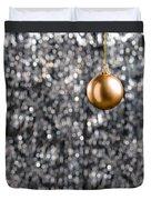 Bronze Christmas  Duvet Cover