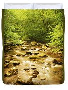 Bronze Stream Duvet Cover
