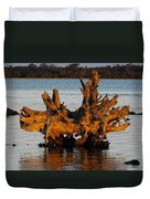 Bronzed Wood Duvet Cover