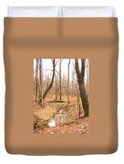 Brook In The Woods Duvet Cover