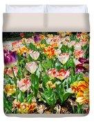 Brookgreen Gardens Tulips Duvet Cover