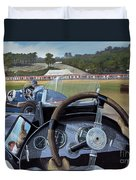 Brooklands From The Hot Seat  Duvet Cover