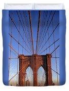 Brooklyn Bridge Duvet Cover by Brooklyn Bridge
