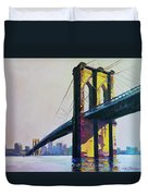 Brooklyn Bridge, N Y  Duvet Cover