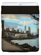 Brooklyn Bridge Park Duvet Cover