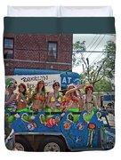 Brooklyn Mermaids Duvet Cover