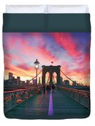 Brooklyn Sunset Duvet Cover