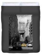 Brooklyn Taxi Duvet Cover