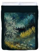 Brooms Shrubs Duvet Cover