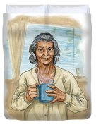 Brother Wolf - Grandmother Issi Duvet Cover