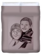 Brothers For Life Duvet Cover