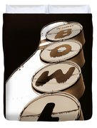 Brown Bowl Duvet Cover