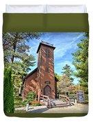 Brown Church Autumn 2 Duvet Cover