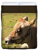 Brown Cow Duvet Cover
