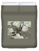 Brown Dragonfly  Duvet Cover