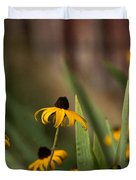 Brown Eed Susans By Red Bard Duvet Cover