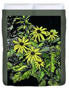 Brown-eyed Susans II Duvet Cover