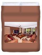 Brown Living Room Duvet Cover