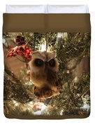 Brown Owl Duvet Cover