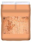 Brown Paint Texture Duvet Cover