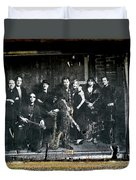 Bruce And The E Street Band Duvet Cover