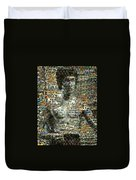 Bruce Lee Mosaic Duvet Cover