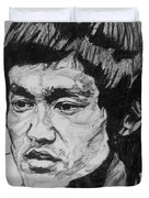 Bruce Lee Duvet Cover
