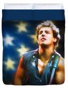 Bruce Springsteen Americana Duvet Cover
