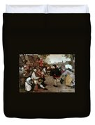 Bruegel, Peasant Dance Duvet Cover