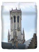 Bruges Belfry 6 Duvet Cover