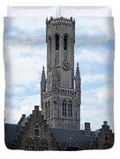 Bruges Belfry 7 Duvet Cover