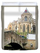 Bruges Bridge 3 Duvet Cover