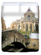 Bruges Bridge 4 Duvet Cover