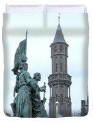 Bruges Markt 5 Duvet Cover