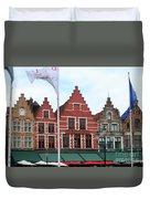 Bruges Markt 6 Duvet Cover