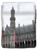 Bruges Markt 9 Duvet Cover