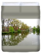 Bruges Minnewater 1 Duvet Cover
