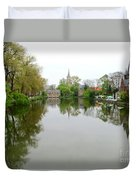 Bruges Minnewater 2 Duvet Cover