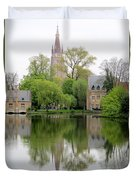 Bruges Minnewater 3 Duvet Cover
