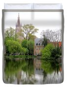 Bruges Minnewater 4 Duvet Cover