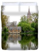 Bruges Minnewater 5 Duvet Cover
