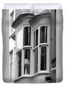 Bruges Window 14 Duvet Cover